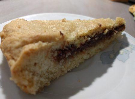 Torta con marmellata di FICHI , cioccolata e noci